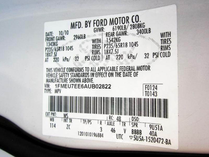 FORD EXPLORER 2010 price $8,999