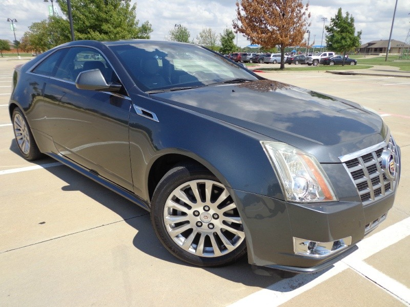 2013 Cadillac Cts Coupe 2dr Cpe Performance Rwd North Texas Vehicle