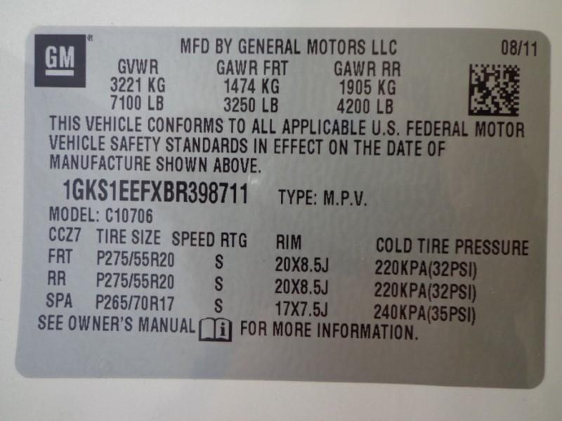 GMC Yukon 2011 price $14,562