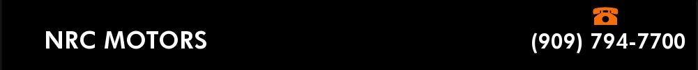 NRC MOTORS. (909) 794-7700