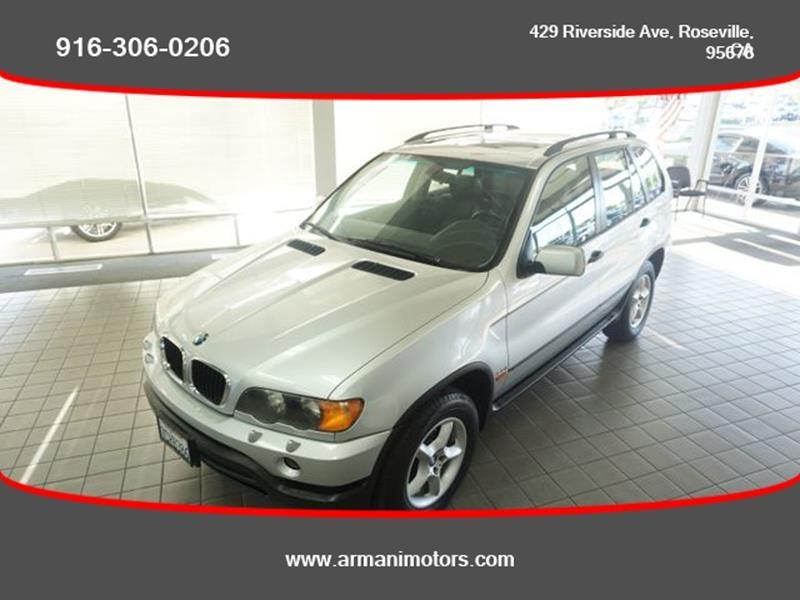 BMW X5 2001 price $4,249