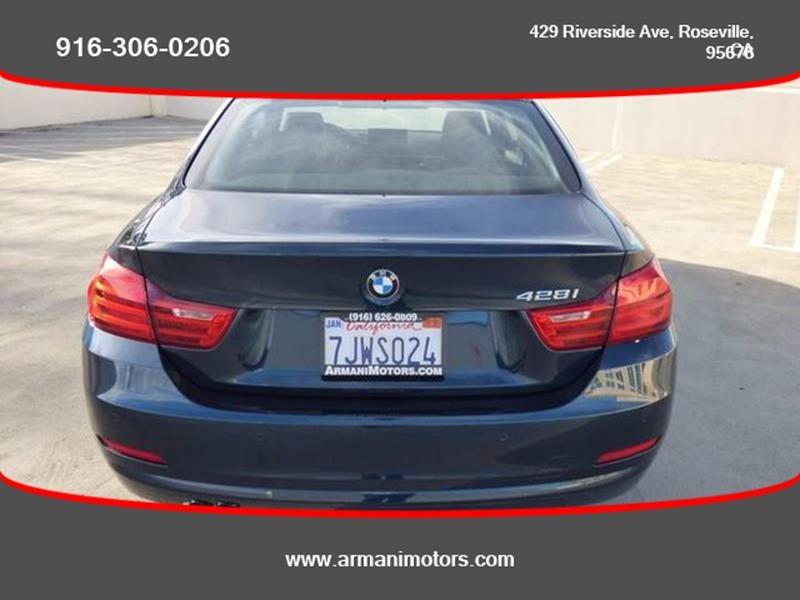 BMW 4 Series 2015 price $16,595