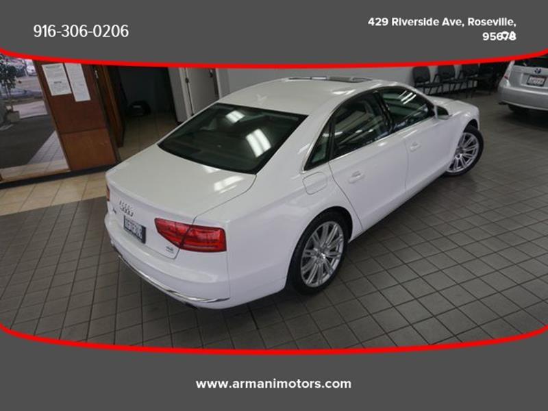 Audi A8 2012 price $22,495