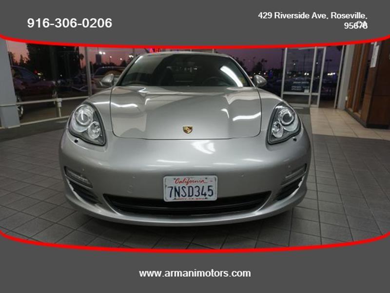 Porsche Panamera 2012 price $33,995