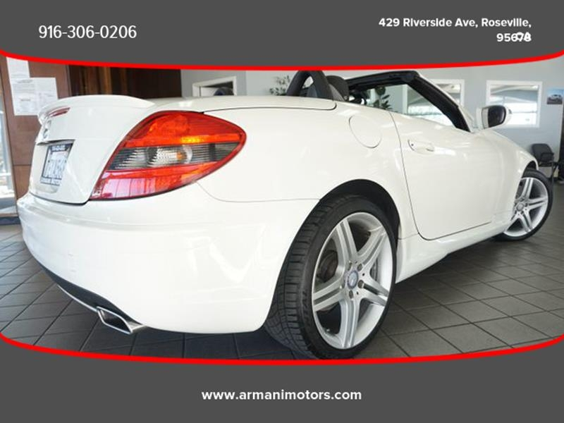 Mercedes-Benz SLK 2011 price $17,595