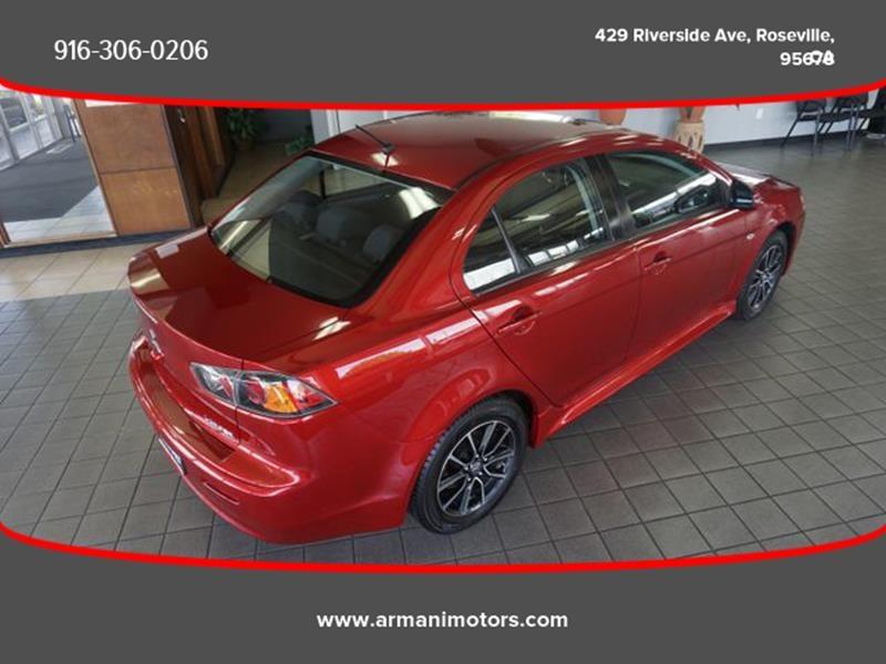 Mitsubishi Lancer 2017 price $10,995