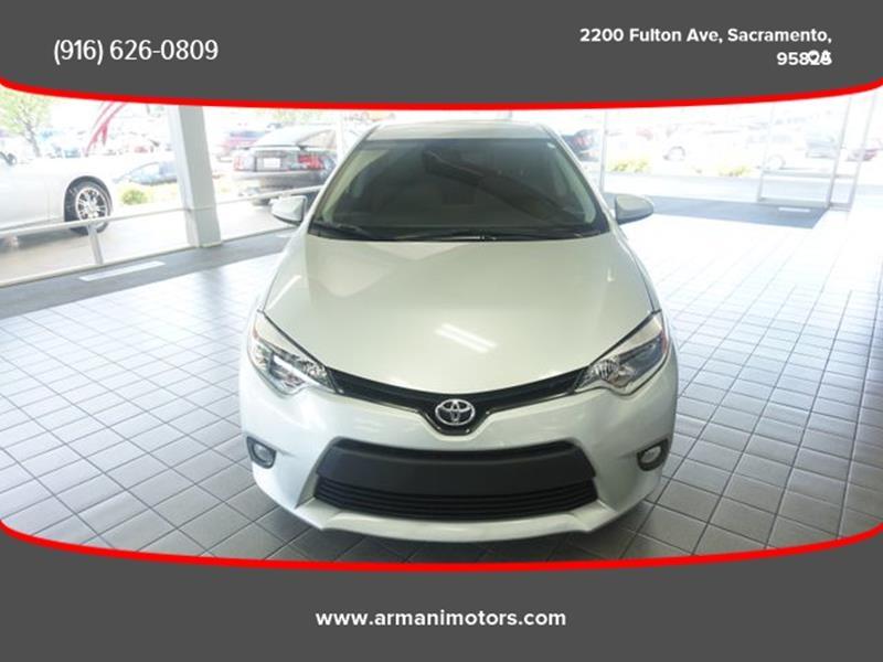 Toyota Corolla 2016 price $11,495