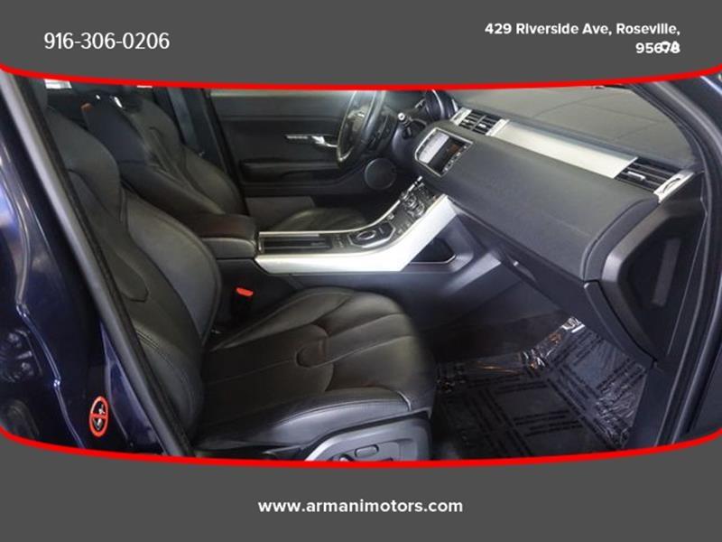 Land Rover Range Rover Evoque 2014 price $20,995