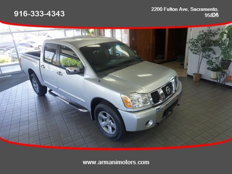 Nissan Titan 2004 price $8,495