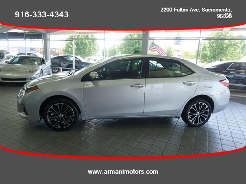 Toyota Corolla 2016 price $14,750