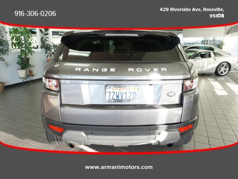 Land Rover Range Rover Evoque 2015 price $22,395