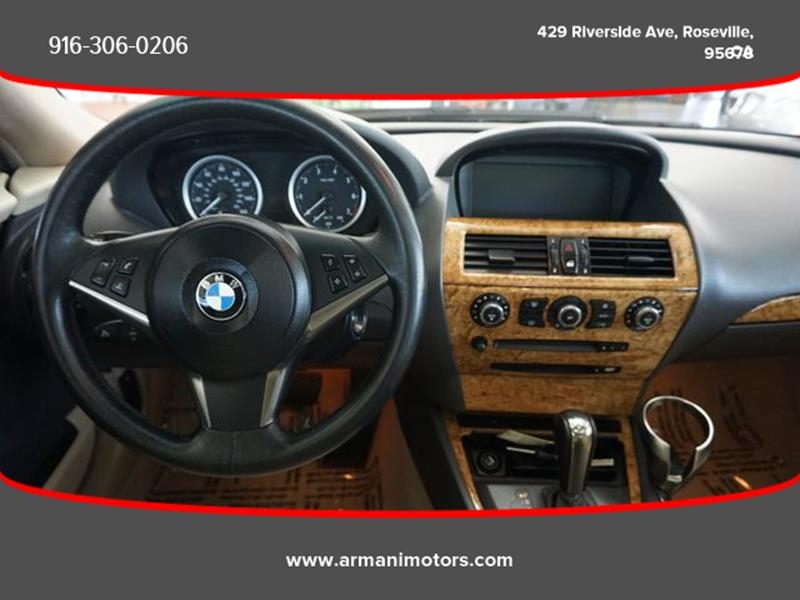 BMW 6 Series 2005 price $8,495