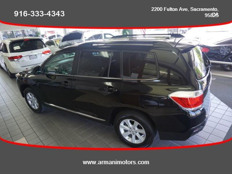 Toyota Highlander 2012 price $17,295