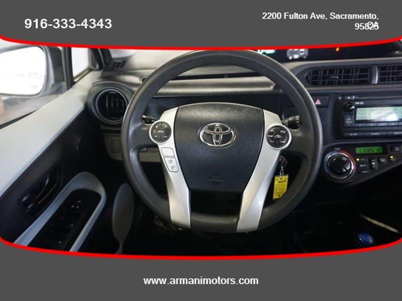 Toyota Prius c 2013 price $8,495