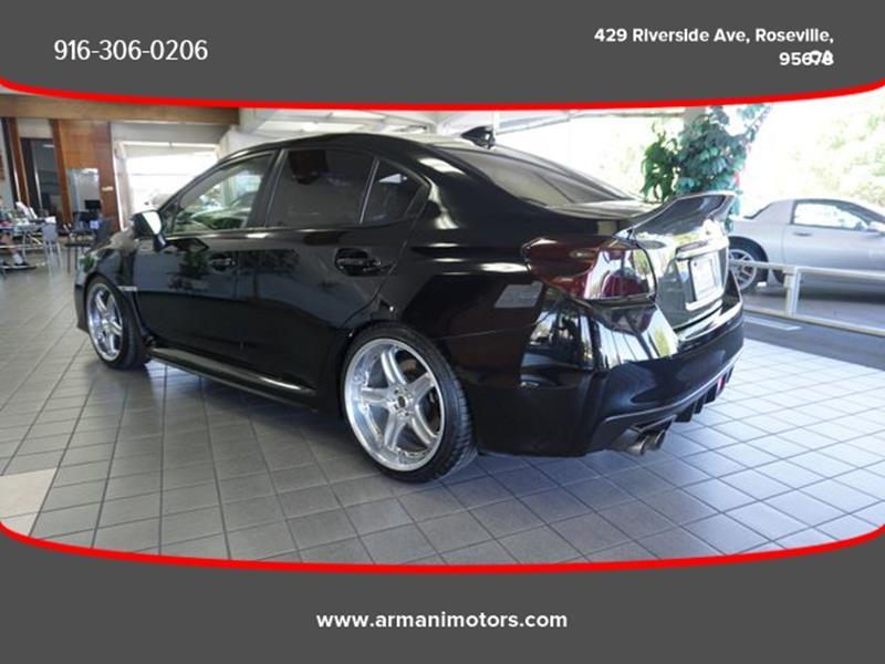 Subaru WRX 2015 price $28,995