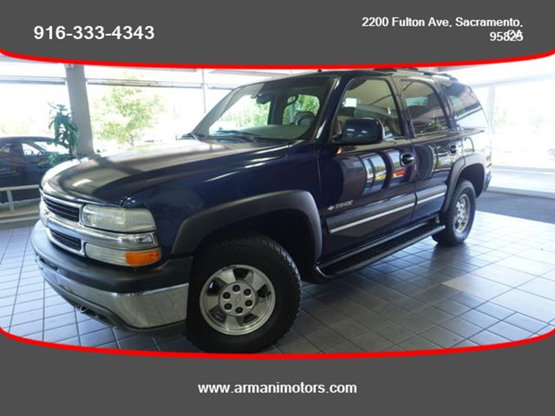 Chevrolet Tahoe 2002 price $3,995