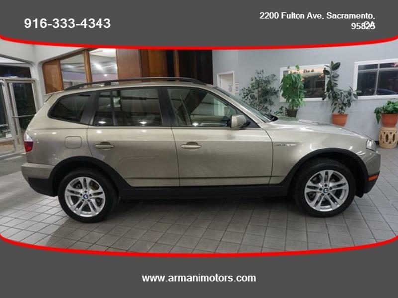 BMW X3 2007 price $6,499