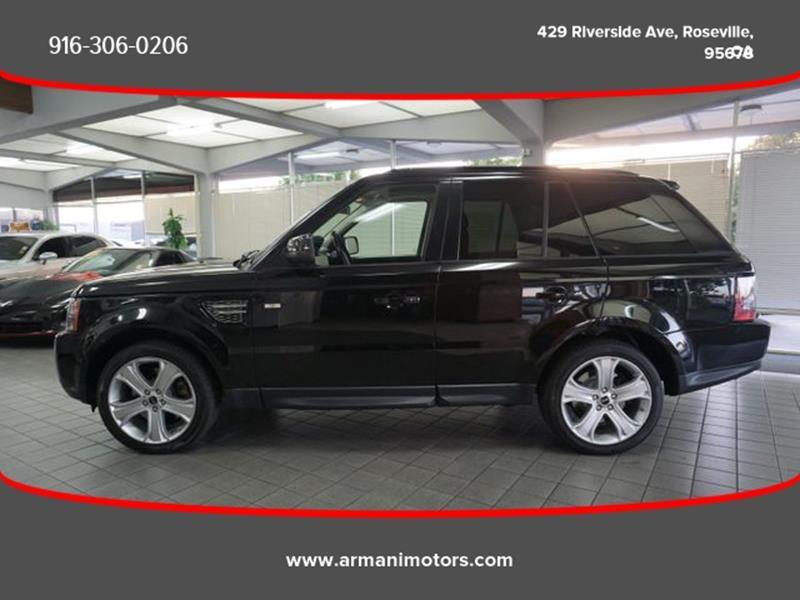 Land Rover Range Rover Sport 2012 price $16,995