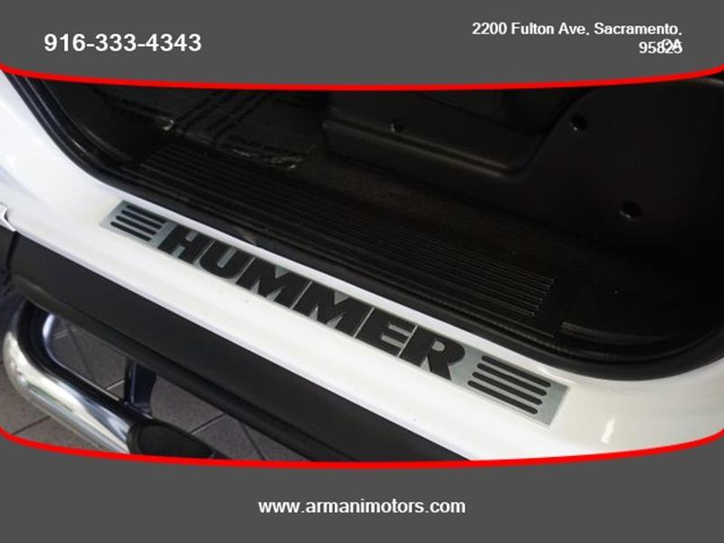 HUMMER H2 2007 price $20,995
