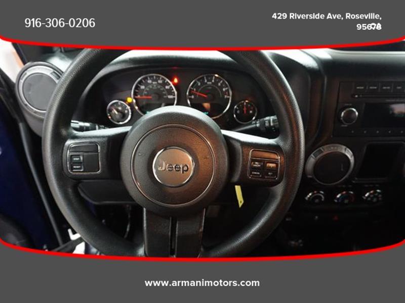 Jeep Wrangler Unlimited 2013 price $27,995