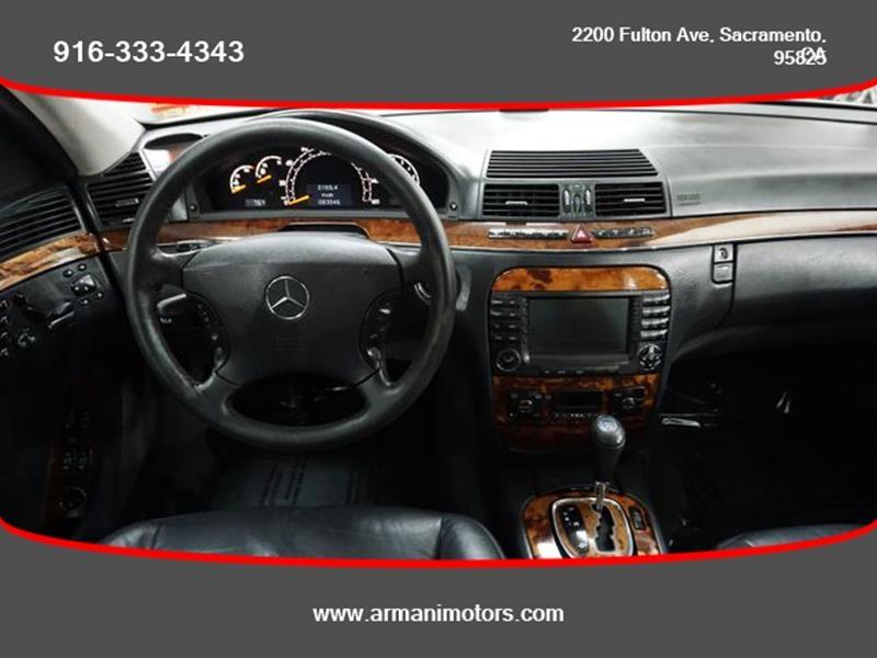 Mercedes-Benz S-Class 2005 price $8,895