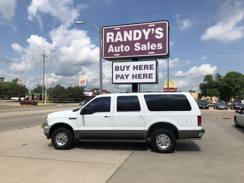FORD EXCURSION 2002 price $7,995