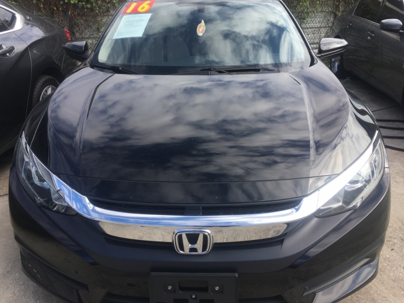 Honda Civic Sedan 2016 price $0