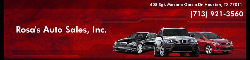 Rosa's Auto Sales, Inc.. (713) 921-3560