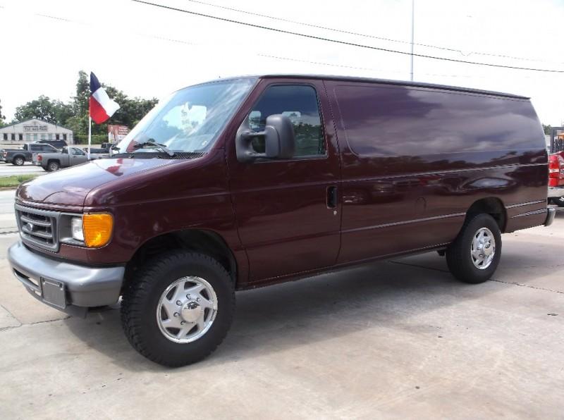 Ford Econoline Cargo Van 2006 price $0