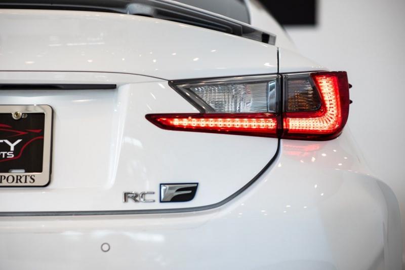 Lexus RC F 2017 price $53,750