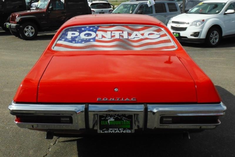 PONTIAC LE MANS 1972 price $17,587