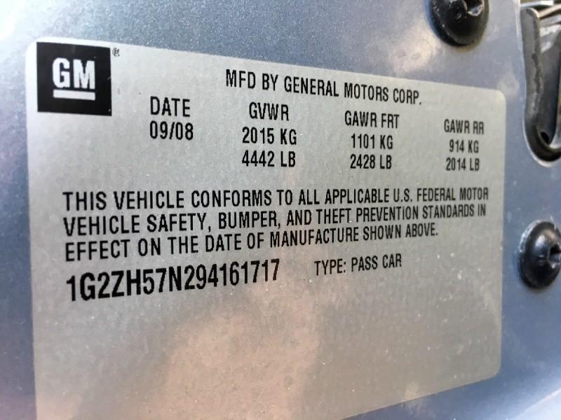 Pontiac G6 2009 price $800 Down