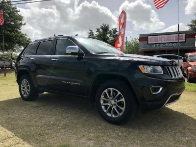 2015 Jeep Grand Cherokee Limited 4x4 | 75K Miles | Clean Inside | Drives Smooth | EZFinancing!