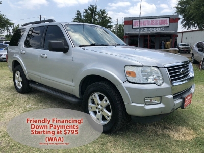2010 Ford Explorer XLT | 3rdRow | Drives Excellent | Nice Tires | Clean Carfax | EZFinancing!