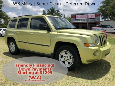 2010 Jeep Patriot FWD | 65K Miles | Automatic | Very Clean | Drives Great | EZFinancing!