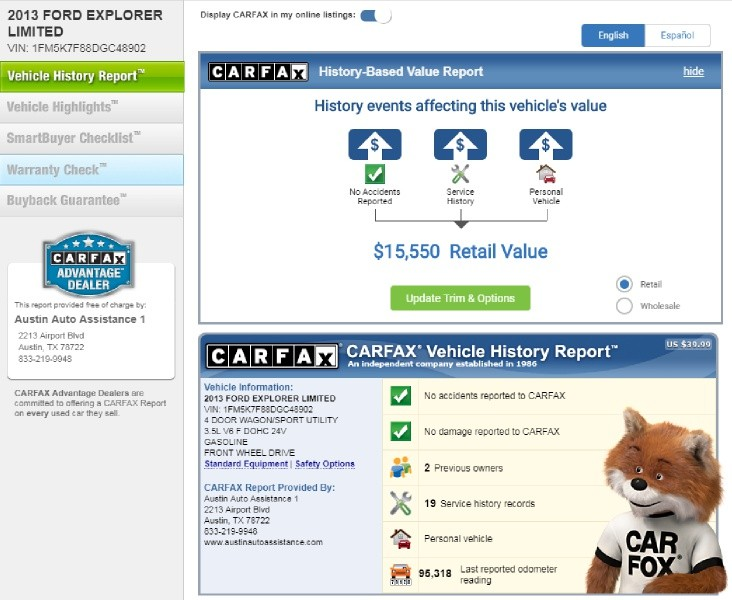 Ford Explorer 2013 price