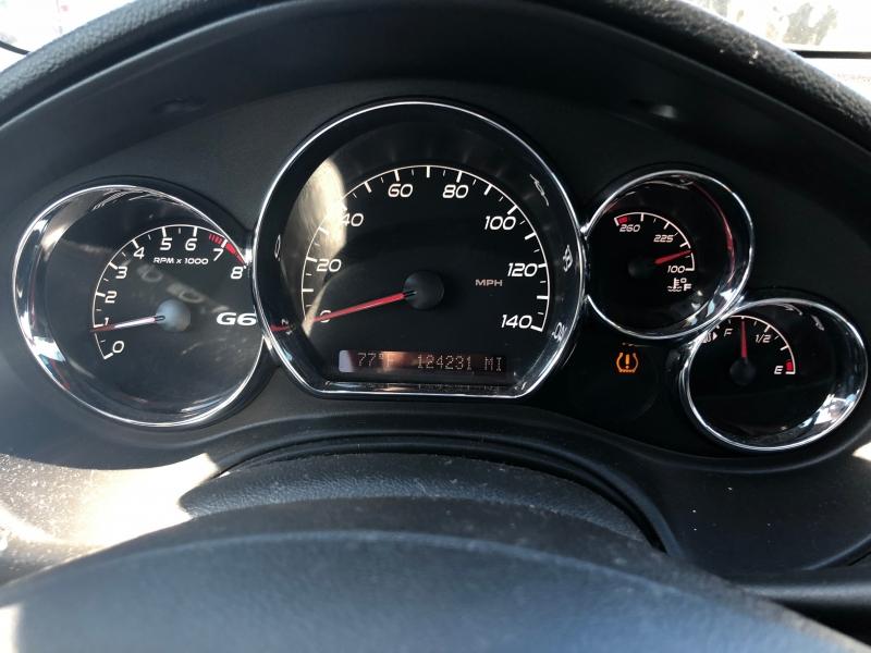 Pontiac G6 2010 price $1,000 Down