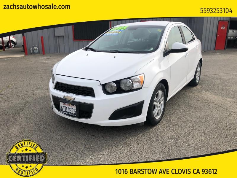 Chevrolet Sonic 2012 price $4,999