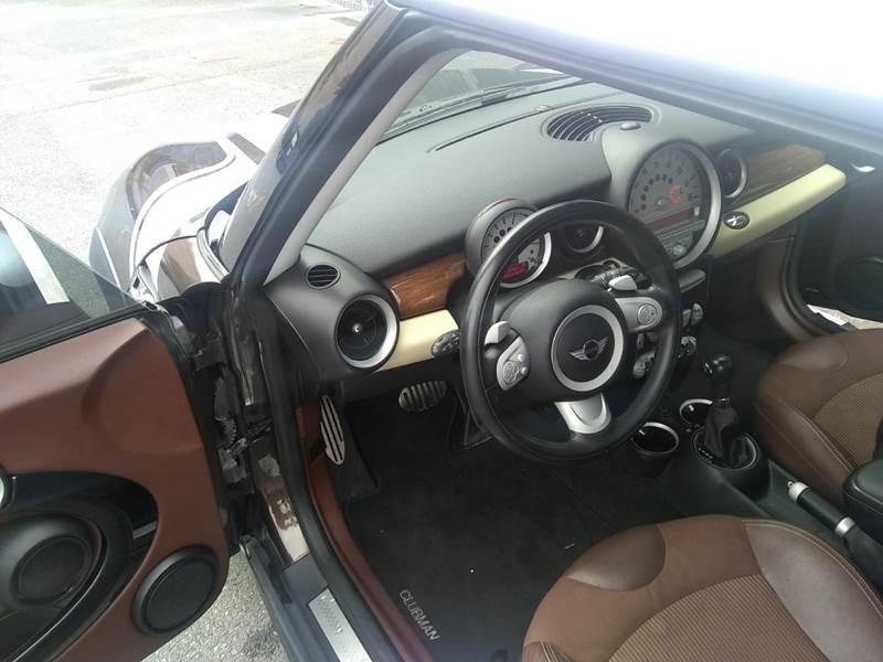 MINI Cooper Clubman 2009 price $8,495