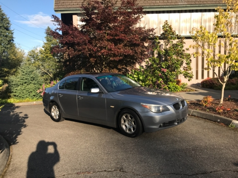 BMW 5-Series 2004 price $5,750