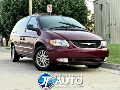 2002 Chrysler Town & Country Limited *CARFAX 1 Owner *Low 119K mi *44 Service Records!