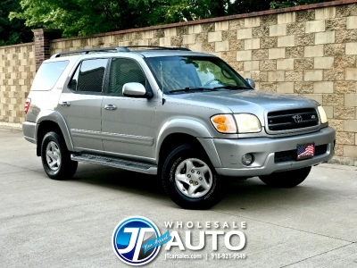 2002 Toyota Sequoia SR5 4WD *CARFAX *NEW TIRES *3rd Row
