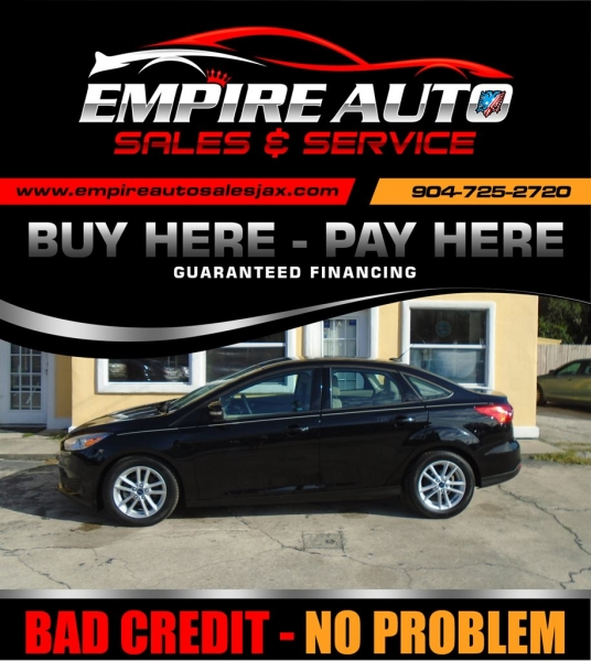 Empire Auto Sales >> 2016 Ford Focus 4dr Sdn Se