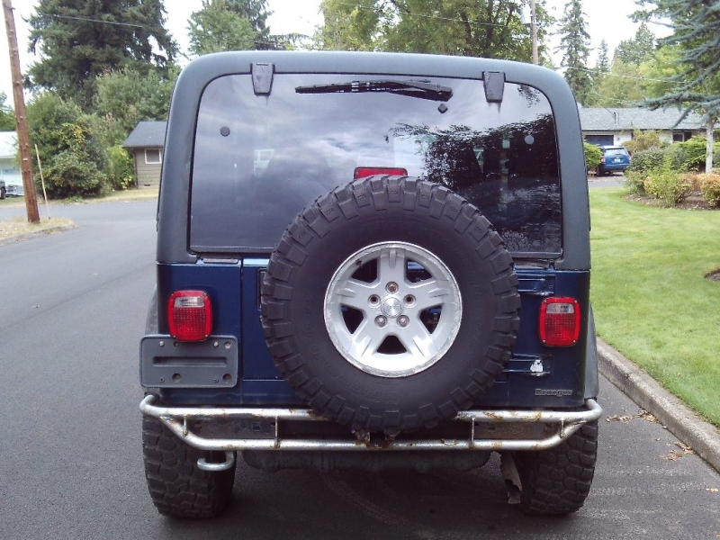 Jeep TJ 2001 price $7,950