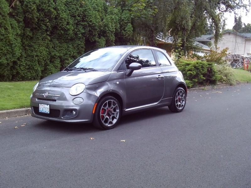 Fiat 500 2012 price $3,250