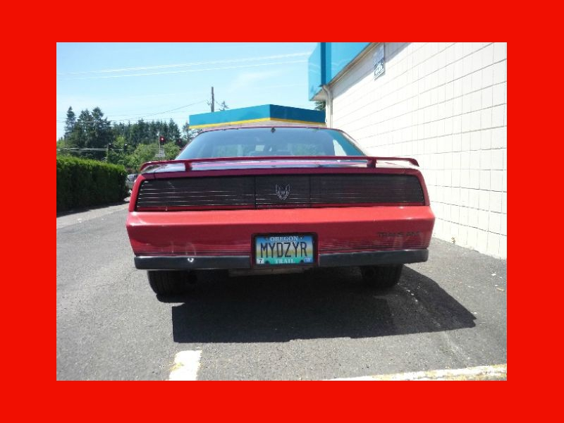 Pontiac Firebird 1984 price $6,450