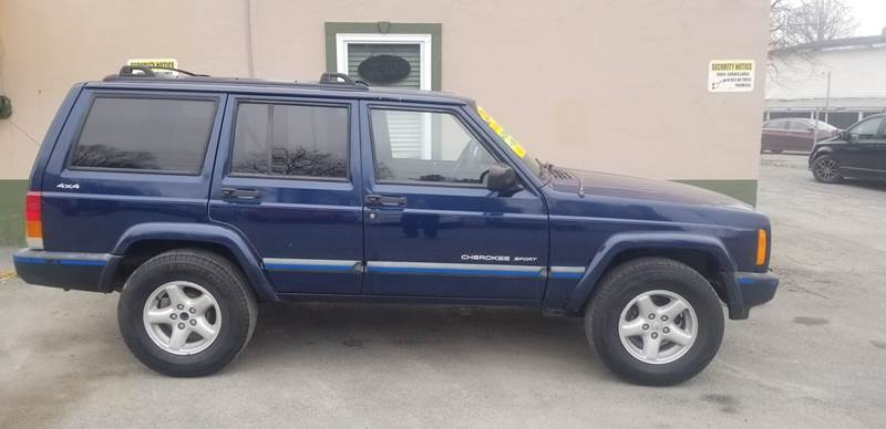 Jeep Cherokee 2000 price $7,995
