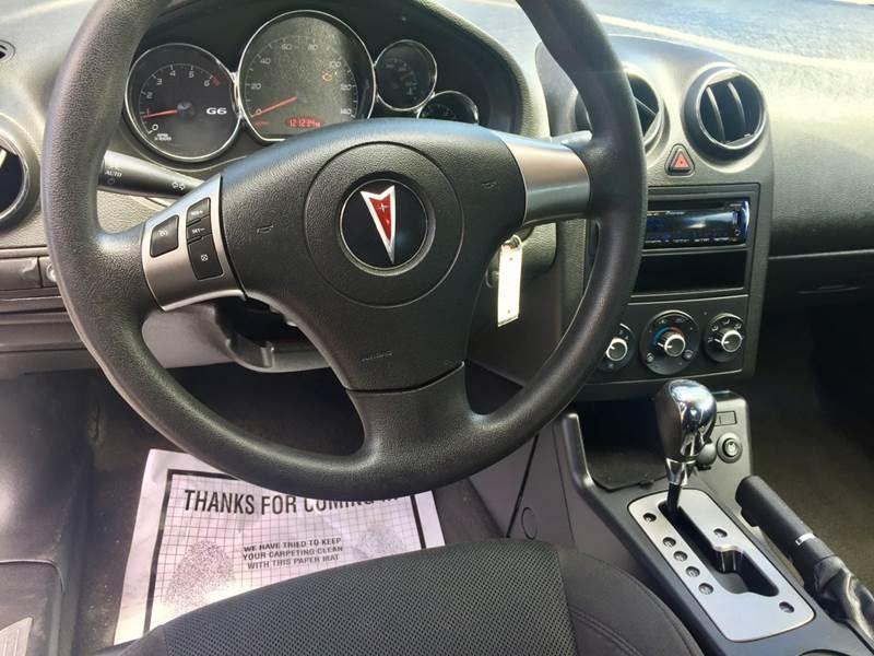 Pontiac G6 2006 price $7,250
