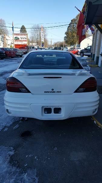 Pontiac Grand Am 2002 price $5,995