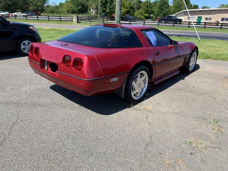 Chevrolet Corvette 1989 price $9,995